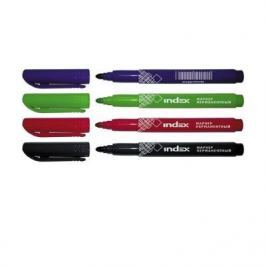 Набор маркеров Index IMP550/4 1 мм 4 шт разноцветный IMP550/4