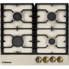 Варочная панель газовая Hansa BHGY61059 бежевый
