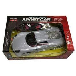 Машинка на радиоуправлении Shantou Gepai Sport Car серебристый от 3 лет пластик 2 канала, 1:24 635550