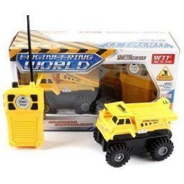 Машинка на радиоуправлении Shantou Gepai Стройка пластик от 6 лет желтый 912-B