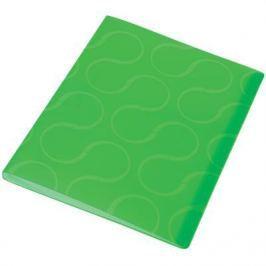 Папка с файлами OMEGA, 20 файлов, цвет зеленый, материал полипропилен, плотность 450 мкр 0410-0032-04