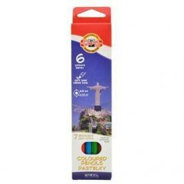 Набор цветных карандашей Koh-i-Noor СВЕТА 6 шт 17.5 см 3651/6 27KS 3651/6 27KS