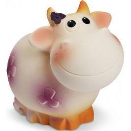 Резиновая игрушка для ванны Огонек корова Ромашка 8 см С-1166
