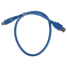 Кабель удлинительный USB 3.0 AM-AF 0.5м VCOM Telecom VUS7065-0.5M