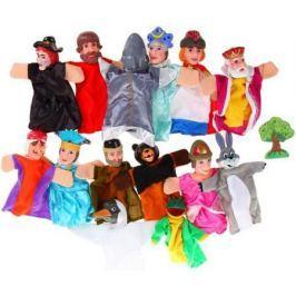 Игровой набор Жирафики Кукольный Театр - Царевна Лягушка 14 предметов 68327