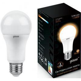 Лампа светодиодная груша Gauss 102502112 E27 12W 2700K