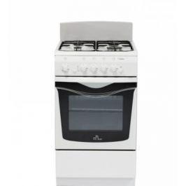 Газовая плита De Luxe 506040.04г щ белый