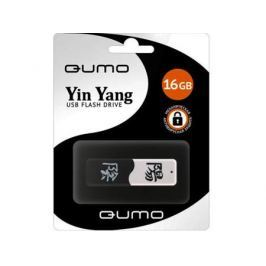 Флешка USB 16Gb QUMO Yin&Yan USB2.0 черно-белый QM16GUD-Y&Y