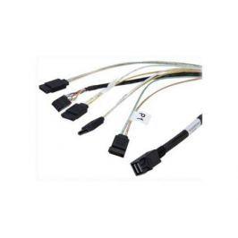 Кабель интерфейсный SAS LSI CBL-SFF8643-SATASB-10M SFF8643- 4xSATA+SB 100см