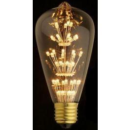 Лампа светодиодная E27 3W колба прозрачная ST64-47LED