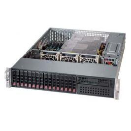 "Серверная платформа Supermicro SYS-2028R-C1R4+ 2U LGA2011-3 C612 24xDDR4 16x2.5"" 4xGigabit Ethernet 2х920Вт"