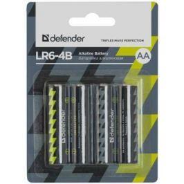 Батарейки Defender LR6-4B 4PCS AA 4 шт 56012
