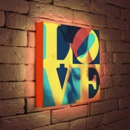 Лайтбокс LOVE 1 35x35-041