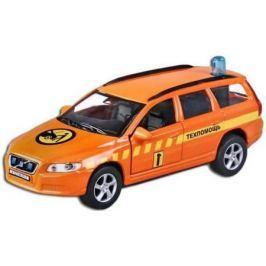 Машина Пламенный мотор 1:32 Volvo V70 Техпомощь 16 см оранжевый 87495