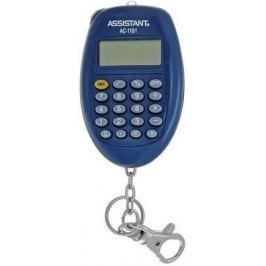 Калькулятор карманный Assistant AC-1191BL 8-разрядный AC-1191BL
