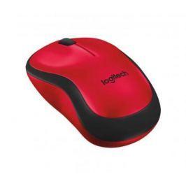 Мышь беспроводная Logitech Wireless Mouse M220 SILENT красный USB 910-004880