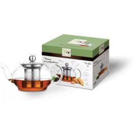 Чайник заварочный Teco TC-205 прозрачный 0.45 л стекло