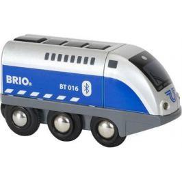 Паровозик Brio управляемый с мобильного приложения,свет,звук 33863