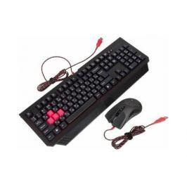 Комплект A4Tech Bloody Q1500/В1500 черный USB