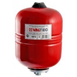 Бак расширительный для отопления VRV8 8л КРАСНЫЙ VALTEC VT.RV.R.060008
