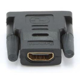 Переходник HDMI F - DVI M Gembird золотые разъемы пакет A-HDMI-DVI-2