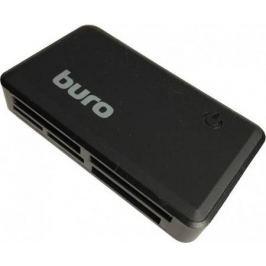 Картридер внешний Buro BU-CR-151 USB2.0 черный