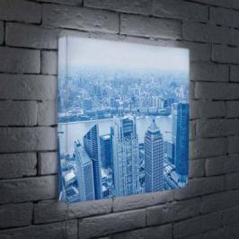 Лайтбокс Шанхай 45x45-036