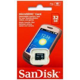 Карта памяти MicroSDHC 32GB SanDisk Class4