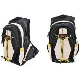 Рюкзак с анатомической спинкой Action! AES1003/BG бежевый черный