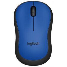 Мышь беспроводная Logitech Wireless Mouse M220 синий USB + радиоканал 910-004879