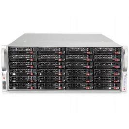 "Серверная платформа Supermicro SSG-6048R-E1CR24N 4U LGA2011 C602 24xDDR4 24x3.5"" SAS Gigabit Ethernet 920Вт"