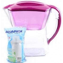 Фильтр для воды Аквафор ПРЕМИУМ кувшин цикламен