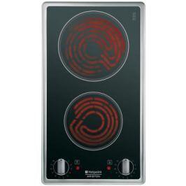 Варочная панель электрическая Ariston 7HDK 2K IX RU/HA черный