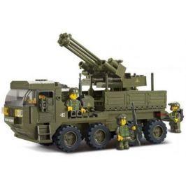 Конструктор SLUBAN Тяжелый транспортер M38-B0302 306 элементов