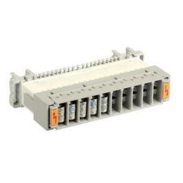 Магазин грозоразрядников ITK PLCAS-0A10P на 10 пар для защиты плинтов аналог Krone пустой