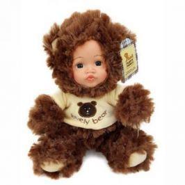 Мягкая игрушка медведь Fluffy Family Мой мишка коричневый искусственный мех пластик текстиль 681240