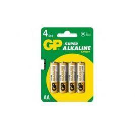 Батарейка GP Super 15A(CR4)-UE4/BC4 AA 4 шт