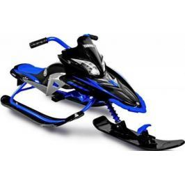 Снегокат Snow Moto Apex SNOW BIKE Titanium до 40 кг синий пластик металл YM13001