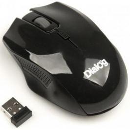 Мышь беспроводная Dialog MROP-04UB чёрный USB