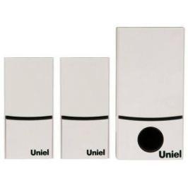 Звонок беспроводной (05470) Uniel UDB-090W-R1T2-32S-100M-WH