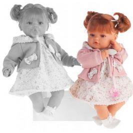 Кукла Munecas Antonio Juan Каталина в розовом 42 см плачущая 1668P