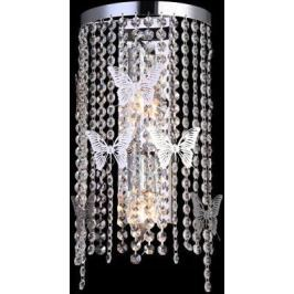 Настенный светильник Crystal Lux Bloom AP2 Chrome