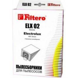 Пылесборники Filtero ELX 02 Эконом 4 шт