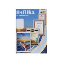 Пленка для ламинирования Office Kit, 100 мик, 100 шт., глянцевая 54х86 (PLP10601)