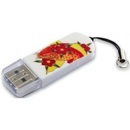Флешка USB 16Gb Verbatim Mini Tattoo Edition Fish 049886 USB2.0 белый с рисунком