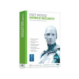 Антивирус ESET NOD32 Mobile Security лицензия на 12 мес на 3 устройства NOD32-ENM2-NS(BOX)-1-1