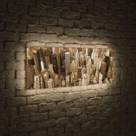 Лайтбокс панорамный Манхеттен 45x135-p009