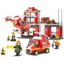 Конструктор Sluban серии Пожарный, Пожарная диспетчерская станция, 371 дет. M38-B0225