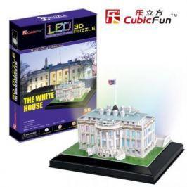 Пазл 3D CubicFun Белый дом с иллюминацией (США) 56 элементов L504h