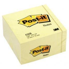 Бумага с липким слоем 3M 450 листов 76x76 мм желтый 636-B